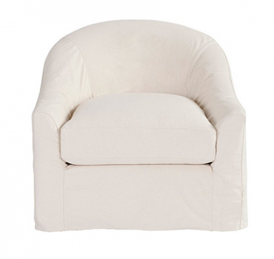 Attirant Lenoir Swivel Chair Slipcover And Frame