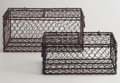 Rectangular Wire Ryan Basket
