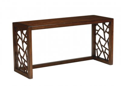 Genial Ethan Allen, Shatter Console Table