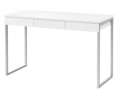 Tvilum Desk with 3 Drawers