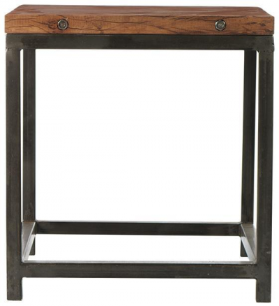"""Holbrook Side End Table - 24""""Hx22""""W, Coffee Bean"""