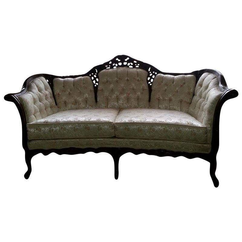 Pre Owned Victorian French Provincial Couch