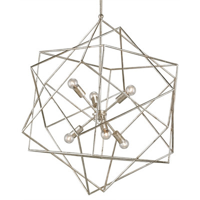 Currey Company Aerial 6 Light Chandelier