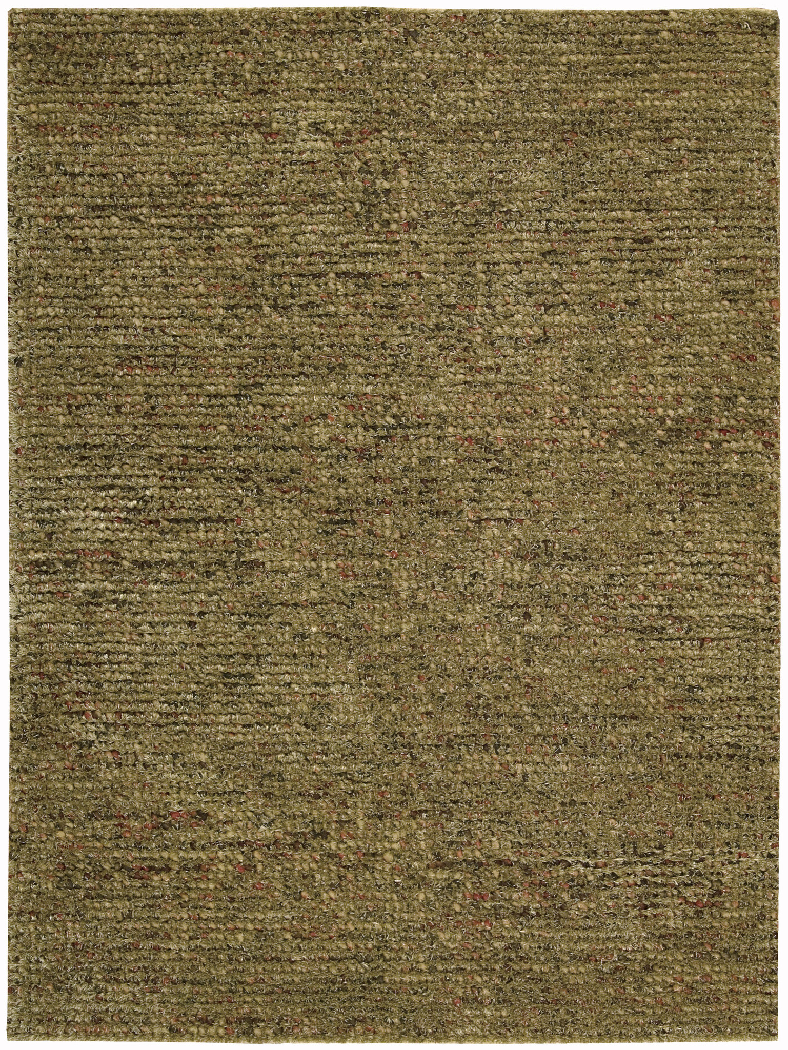 Fantasia collection wool blend area rug in terracotta for Home accents rug collection