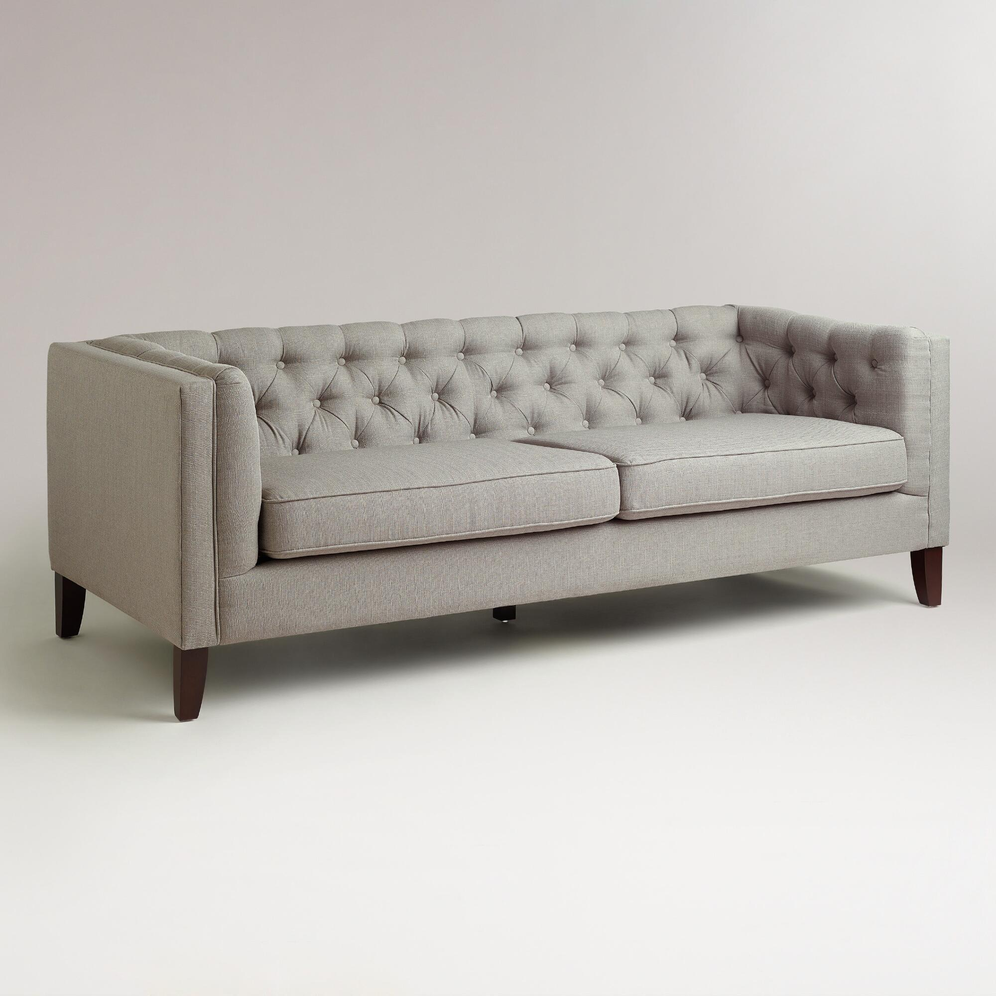 Captivating Fog Kendall Sofa