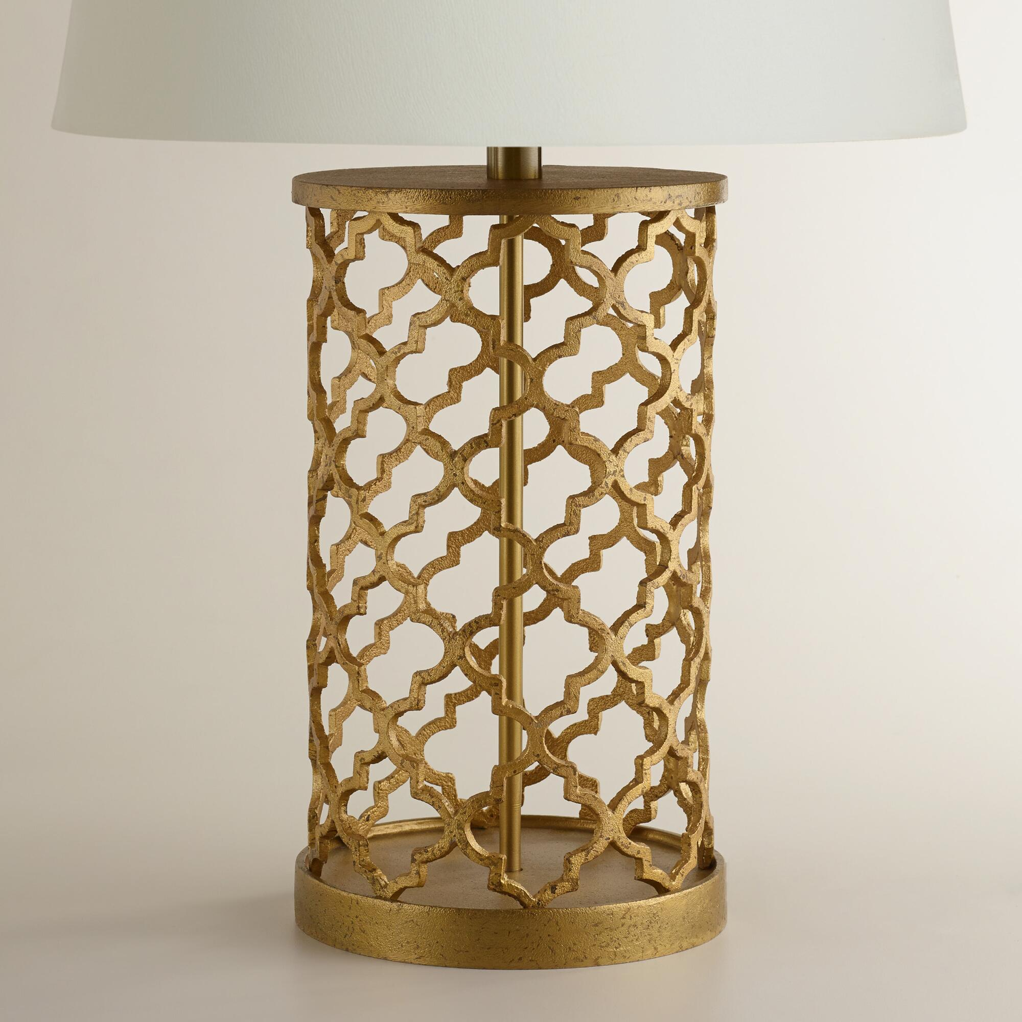 Distressed gold moroccan table lamp base online interior design distressed gold moroccan table lamp base aloadofball Images