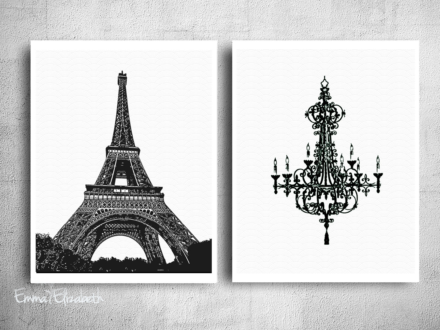 Chic wall decor black white poster print simple clean art french chic wall decor black white poster print simple clean art french home decor paris eiffel tower all categorieslightingchandeliers arubaitofo Choice Image