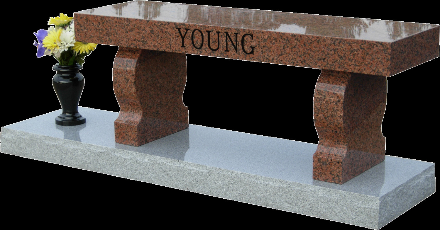 Granite Memorial Bench Available To Be Personalized Online Interior Design Nousdecor