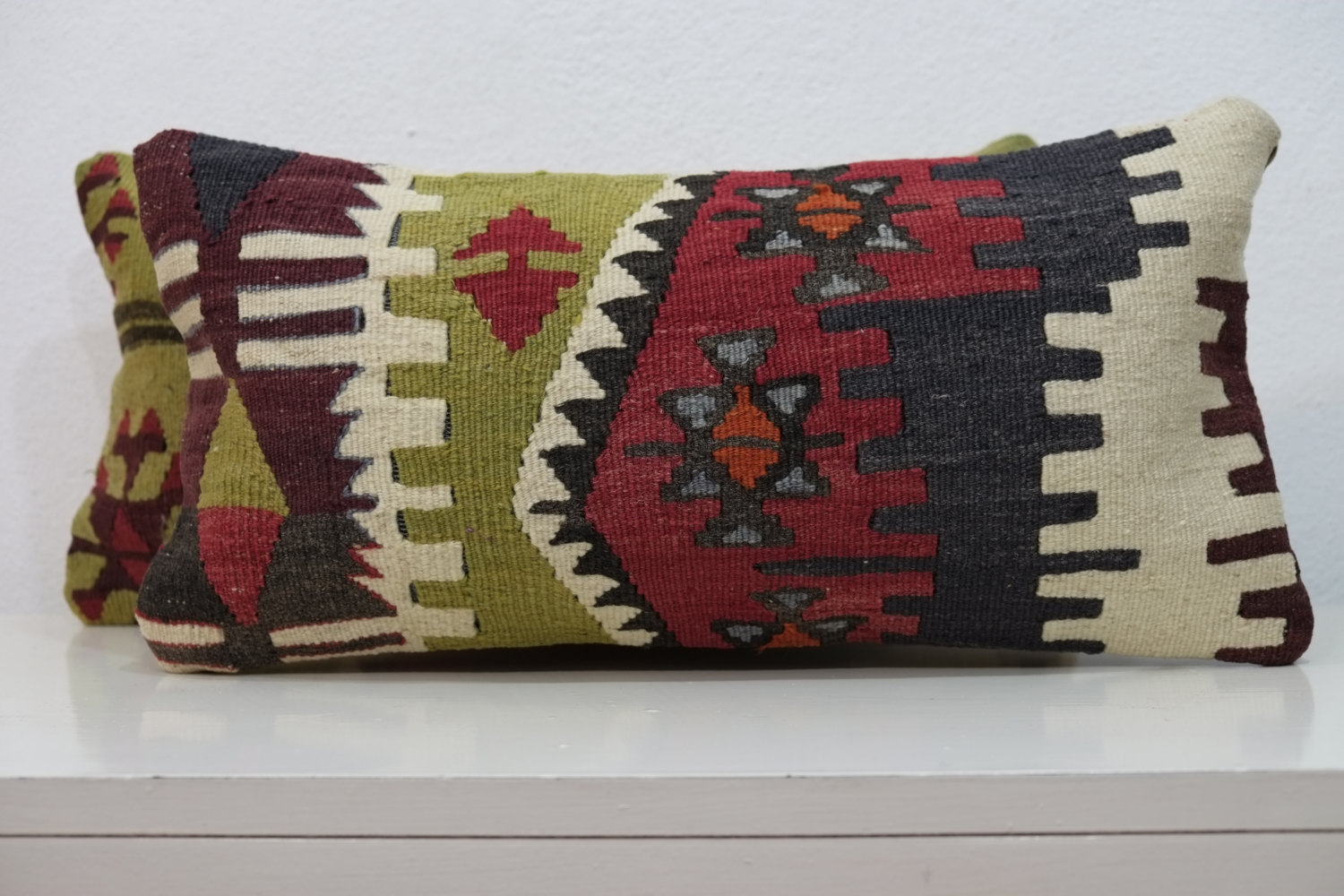 Extra Long Decorative Lumbar Pillow : handicraft lumbar pillow extra large tapestry throw rustic floor pillow boho european pillow ...