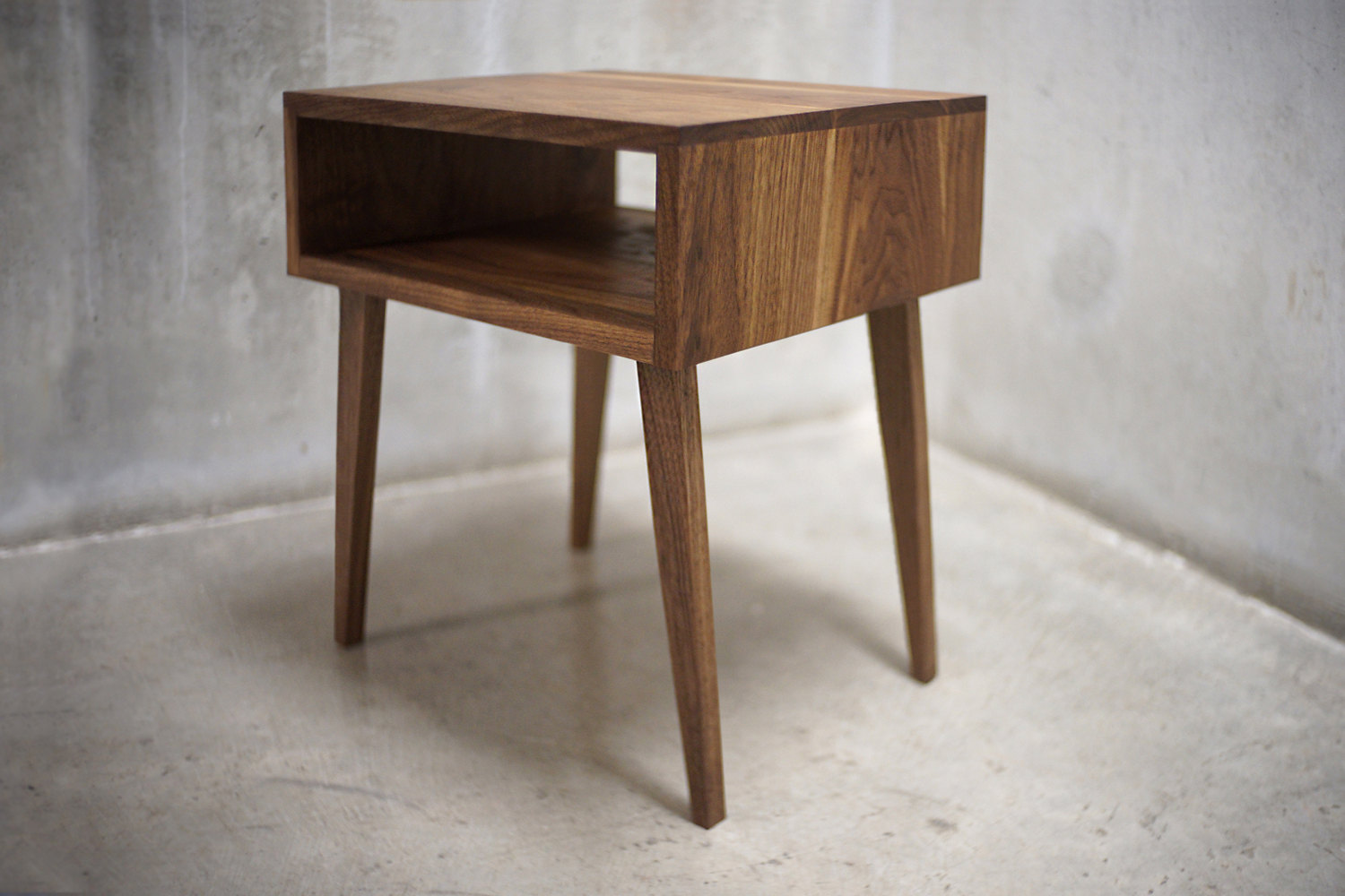 mirrored side table distressed end tables wood and nightstan