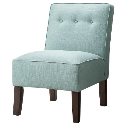 Skyline Accent Chair: Upholstered Chair: Burke Slipper Chair With