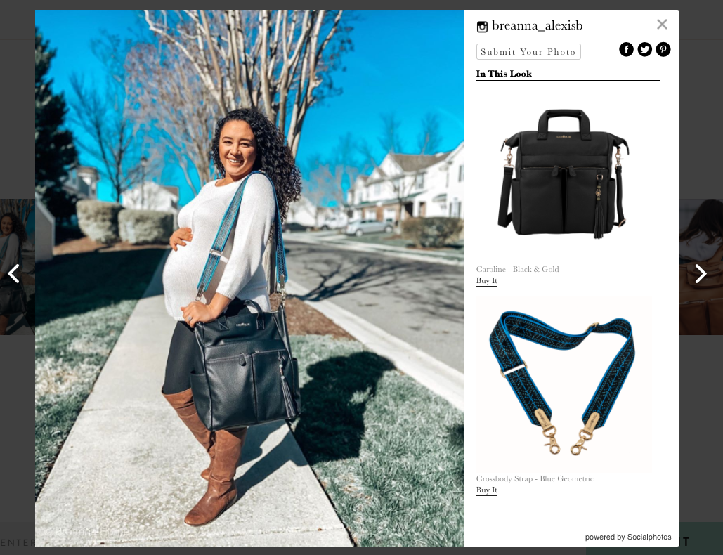 Shop this look feature