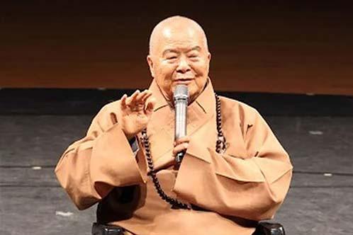 大師勉勵佛教大眾要互相包容