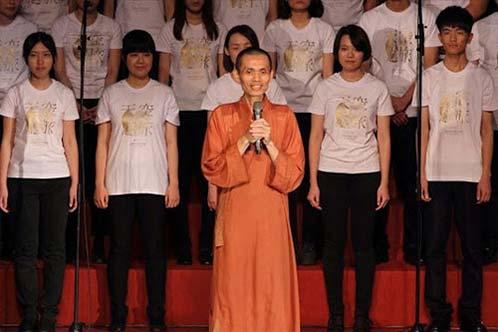 福智僧團如證和尚帶來真如上師的期許