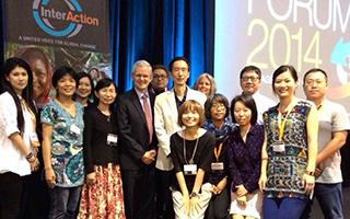 慈心參與2014美國國際志工年會