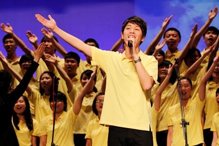福青2014讚頌音樂會,乘載美妙音聲起飛