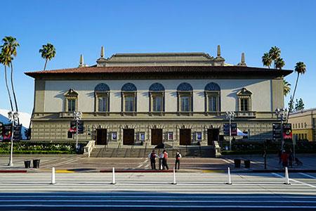 洛杉磯帕薩迪納音樂廳是夢蓮花演出的第五站