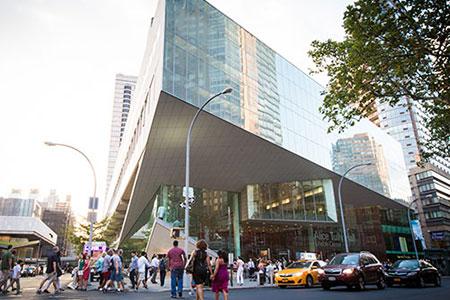 月光音樂會在美國紐約林肯藝術中心演出