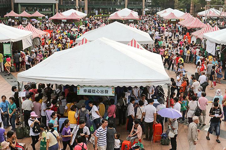 民眾熱情參與福智幸福列車園遊會