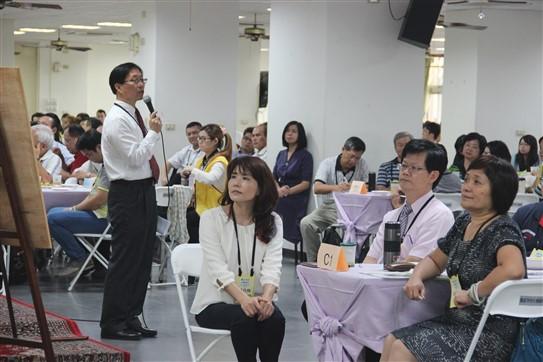 里仁公司韓敬白經理向大家分享未來展望