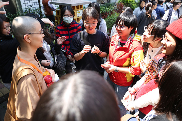 福智2016大專青年南海寺寺院參訪活動