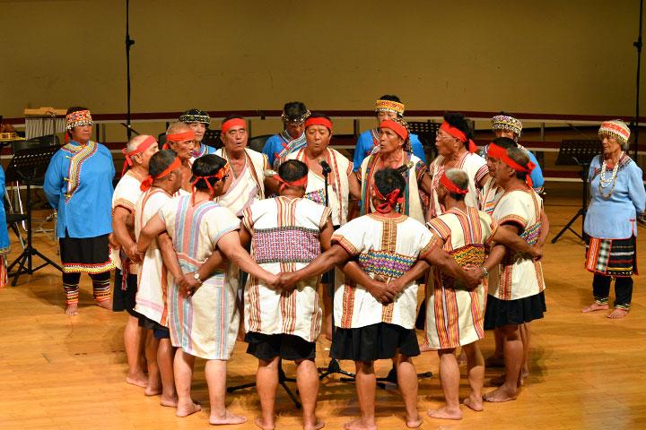 布農族部落原音演出