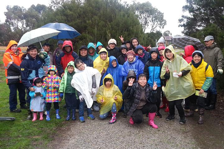 福智墨爾本教室積極參與地方政府以及民間種樹團體的活動