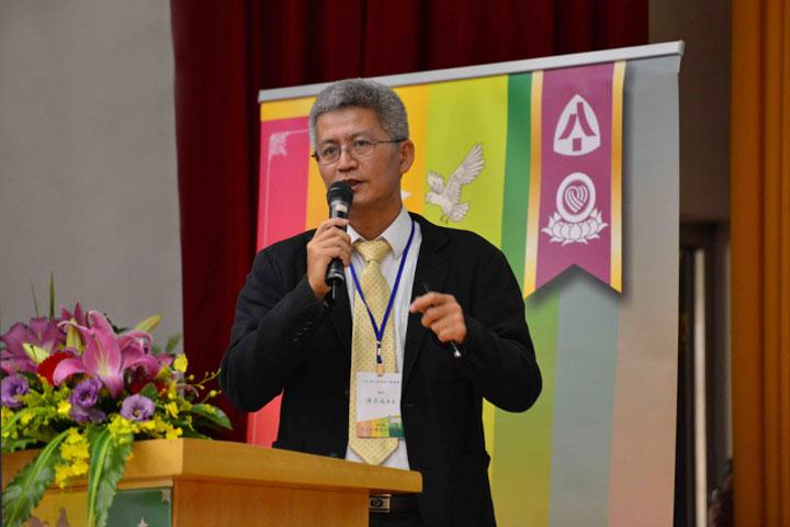 福智佛教基金會護生推動專員陳奕成,主講「築夢踏實——多元護生成果與願景」