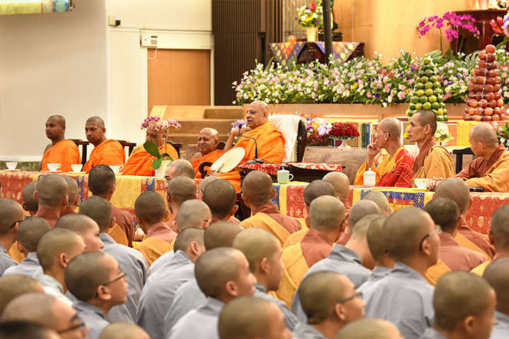 斯里蘭卡僧王蘇曼格勒 10/19蒞台訪問福智僧團