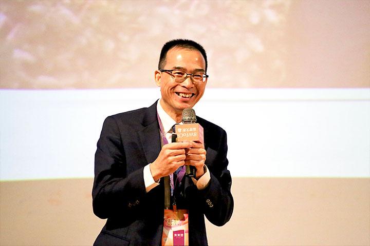 天下文化總經理林天來分享「新世紀的人生觀」