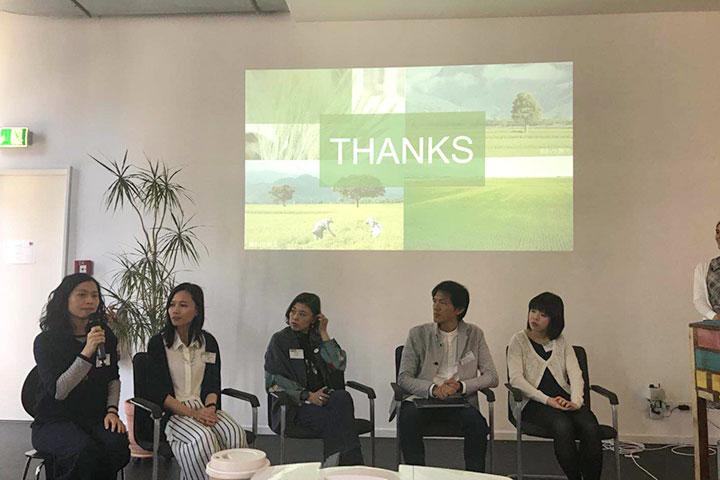 慈心基金會分享在亞洲區域的台灣推廣蔬食的經驗