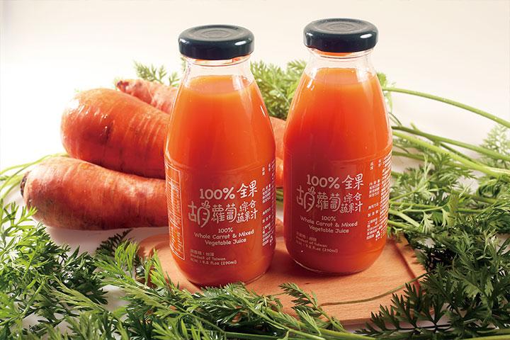100%全果胡蘿蔔汁