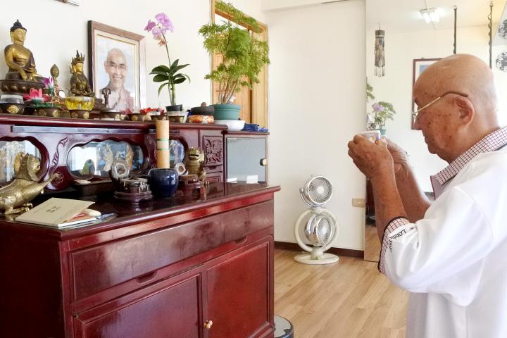 長者之光:精進學法   得師思念——86歲林海平親近善士傳佳話