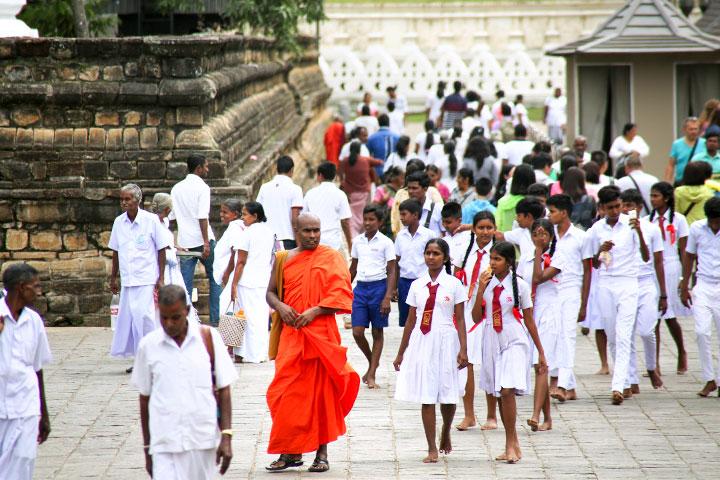 特別報導:走在斯里蘭卡的勝跡上