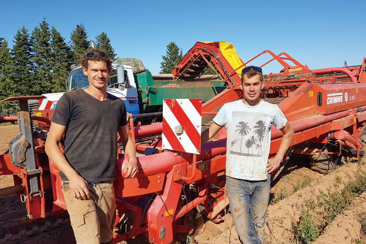 懷抱有機農業理想, 從荷蘭到加拿大打拚的青年兄弟。