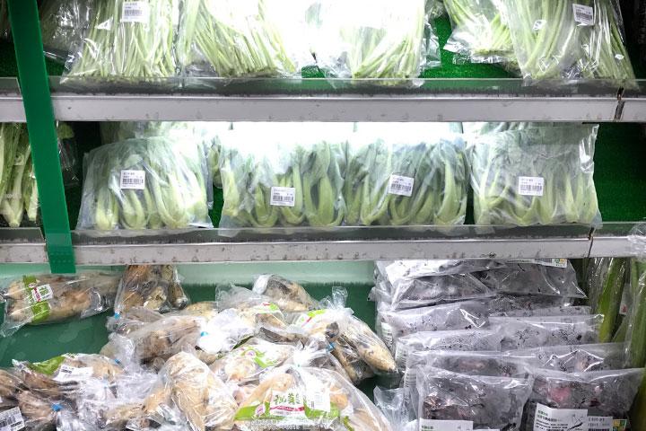 響應淨塑!里仁北區農產品,部分試用PLA包材