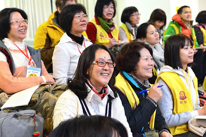 2018福智教師營開跑,真如老師連線開示,為義工加油!