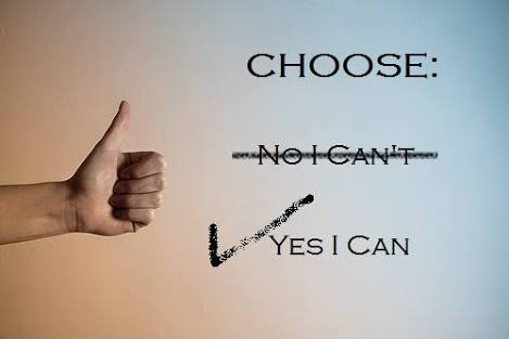 Self-motivation: Yes, I can