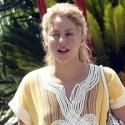 Shakira Hangs In Ibiza With Soccer Stud