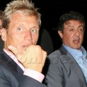 Dolph Lundgren And Sly Stallone Hang Out