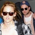 Kristen and Robert Arrive In LA