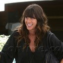 Alanis Morissette Shows Off Her Baby Bump