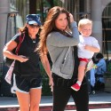 Sarah And Bristol Take Trig And Tripp Out In Beverly Hills