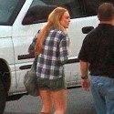 First Photos Of Lindsay Lohan After Her Release From Prison