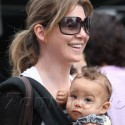 Ellen Pompeo And Baby Stella At The Market