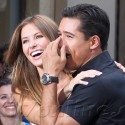 Audrina And Tony Show Mario Lopez How To Dance