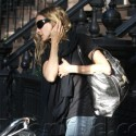 SJP Takes Son To School In Prius