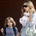 Sarah Jessica Parker And Son James Take A Walk