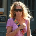 SJP Flashes Her Brights