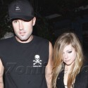 Avril Lavigne And Brody Jenner Have A Romantic Meal In Malibu
